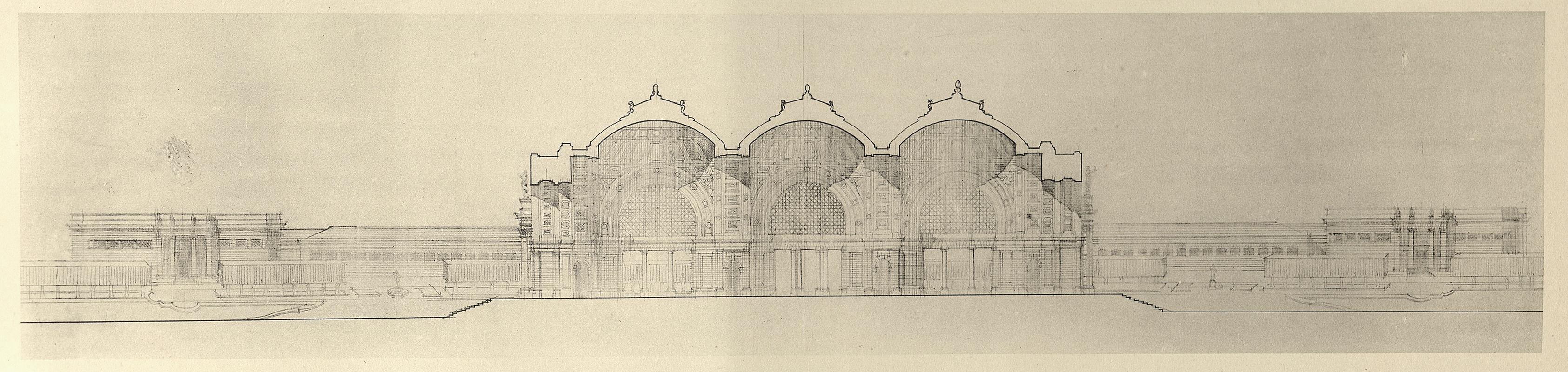 Charles Lemaresquier. Les Grands Prix de Rome v.4 1900, 479