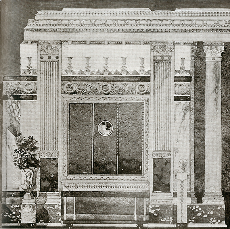 Gaetano Moretti. Arquitectura. v.6 n.36 1920, 23