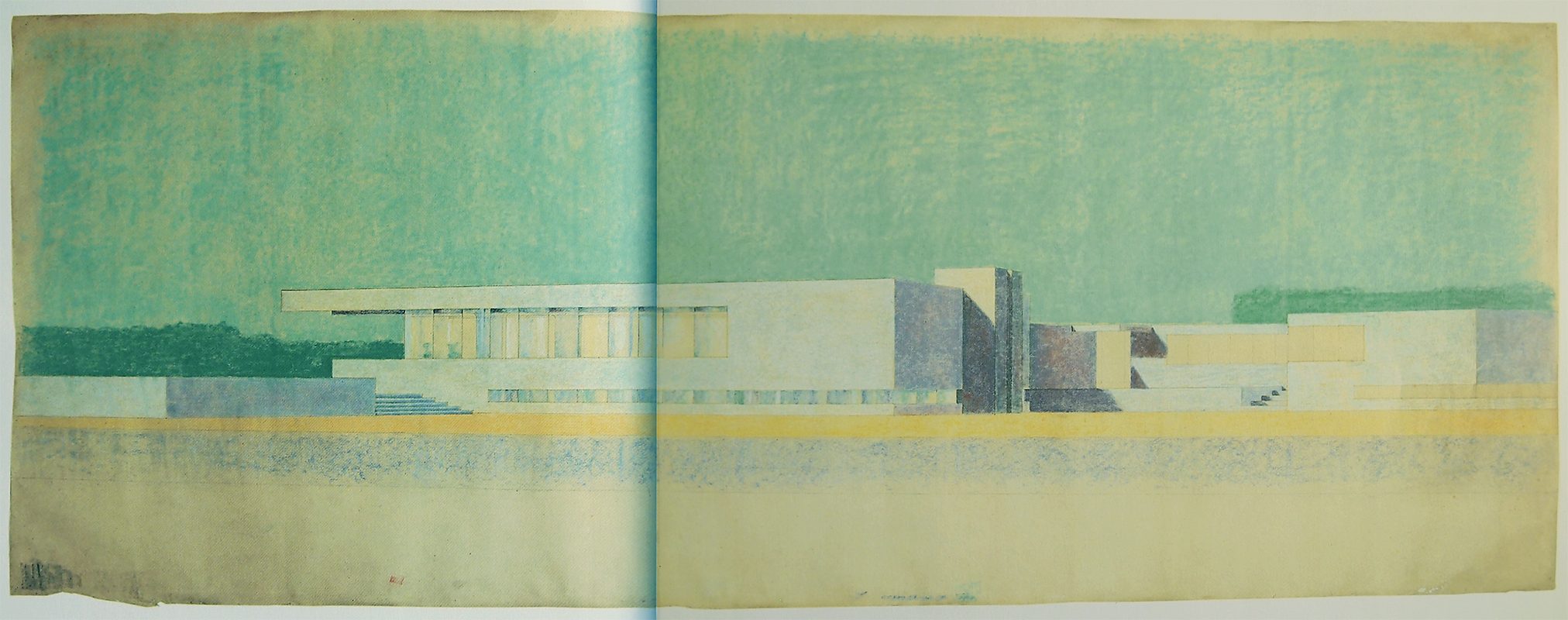Mies van der Rohe. Envisioning Architecture (MoMA, New York, 2002) 1923, 60