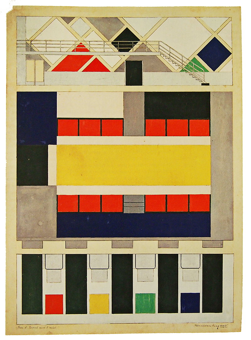 Theo van Doesburg. Envisioning Architecture (MoMA, New York, 2002) 1927, 67