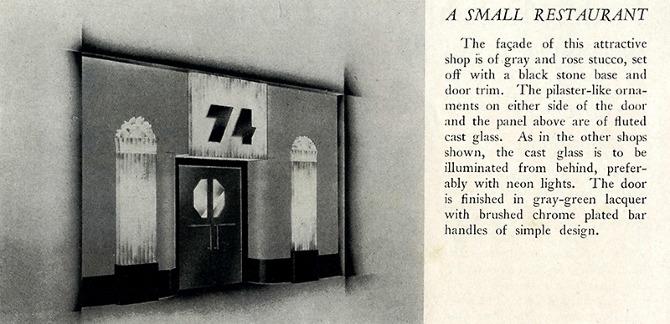 Walter Dorwin Teague. Pencil Points 14 October 1933, 438