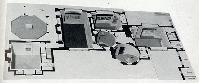 Herman Knebel. Pencil Points 20 June 1939, 409