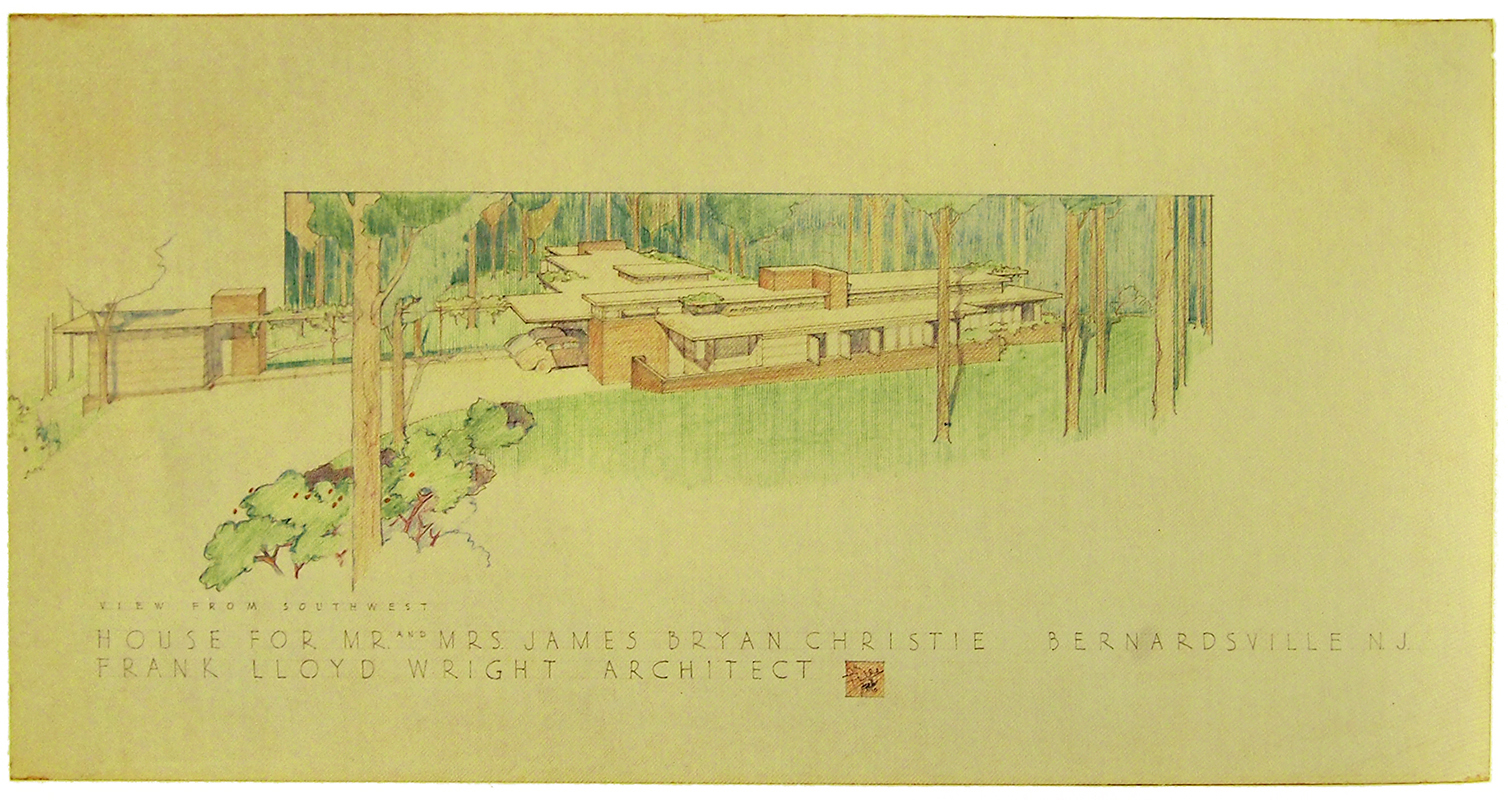 Frank Lloyd Wright. Envisioning Architecture (MoMA, New York, 2002) 1940, 94