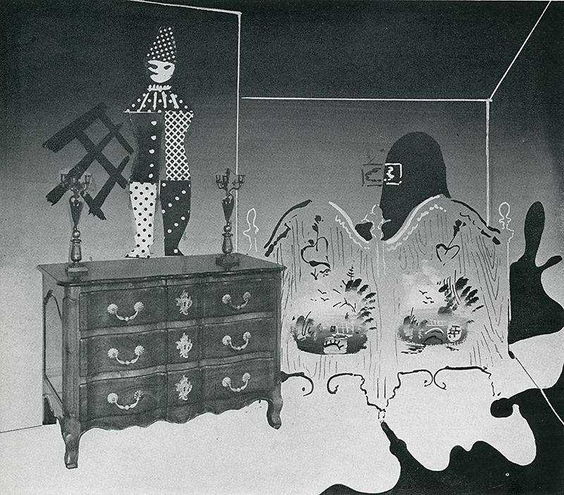 Constantino Nivola. Interiors v.100 n.7 Feb 1941, 22