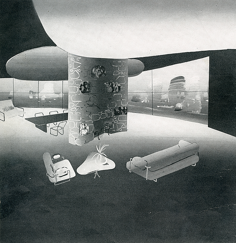Paul Lester Wiener. Interiors v.101 n.1 Aug 1941, 23