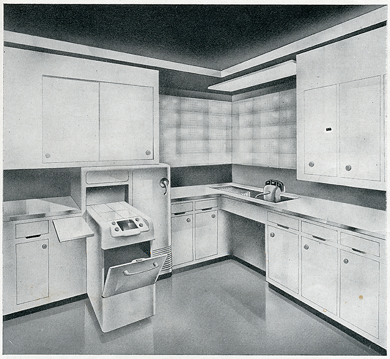 Ralph Kruck. Interiors v.101 n.11 Jun 1942, 33