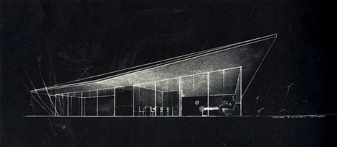Raphael S Soriano. Architectural Forum 77 September 1942, 146