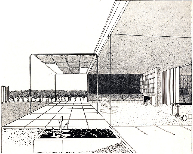 Walter F Bogner. Architectural Forum 77 September 1942, 81