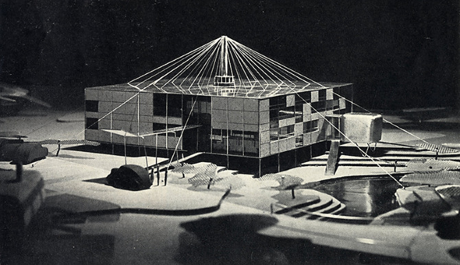 Eero Saarinen. Architectural Forum 78 January 1943, 58