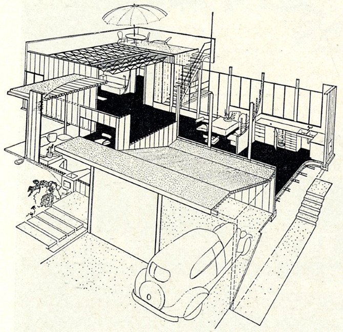 Richard Neutra. Architectural Forum 78 March 1943, 79