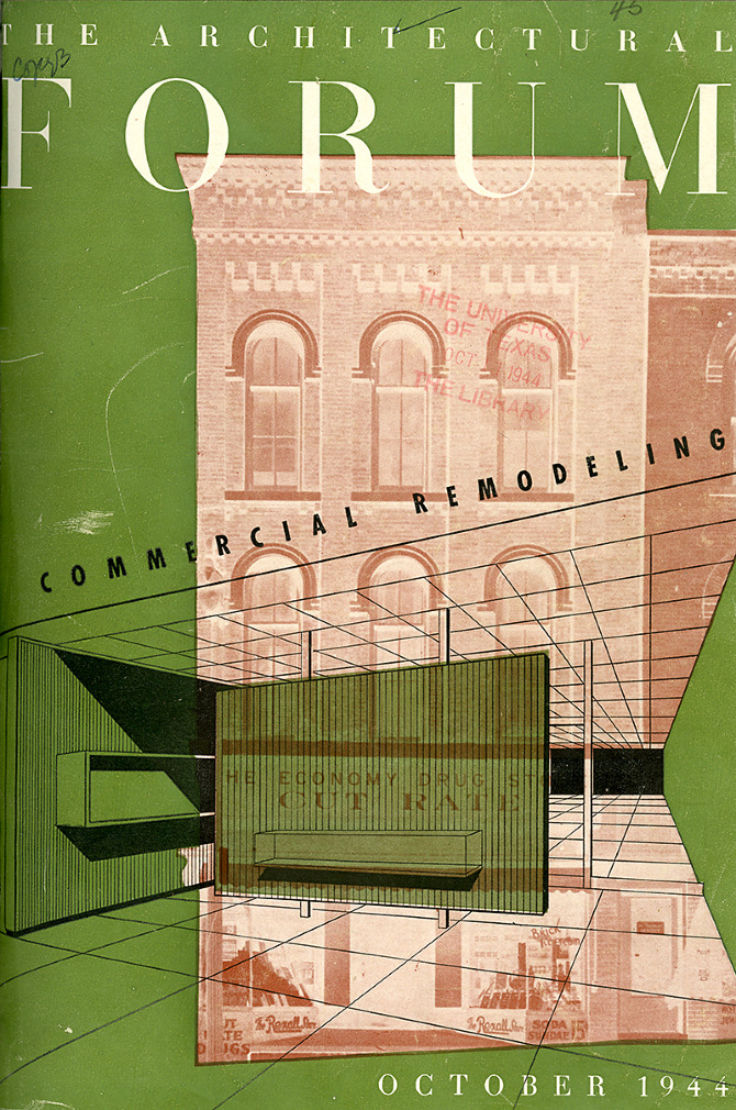 Architectural Forum 81 October 1944, cover