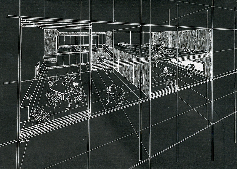 Rosalind Ray Wheeler. Interiors v.103 n.6 Jan 1944, 43