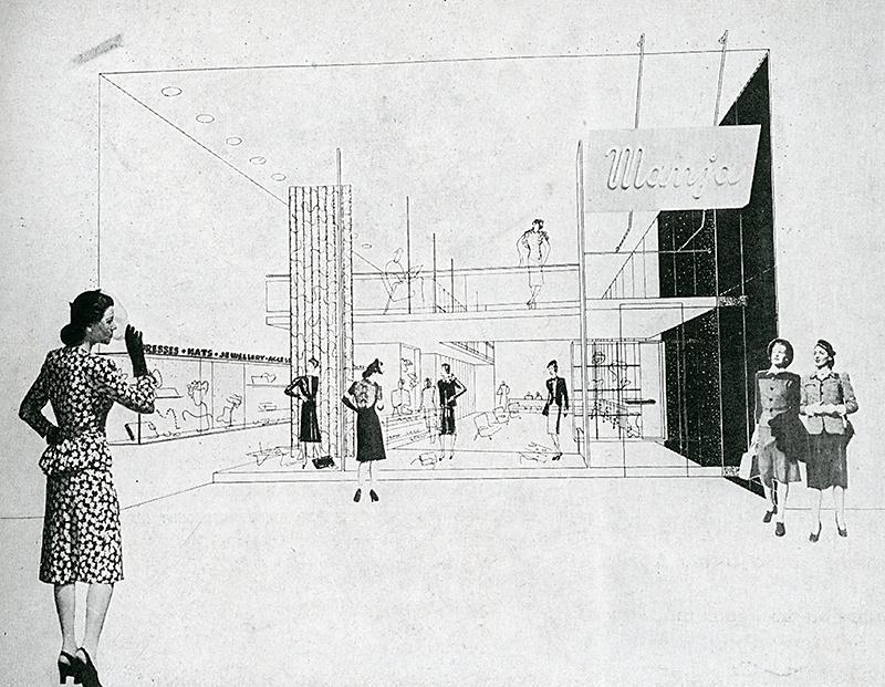 Samuel Glaser and Ladislav Rado. Interiors v.104 n.3 Oct 1944, 75