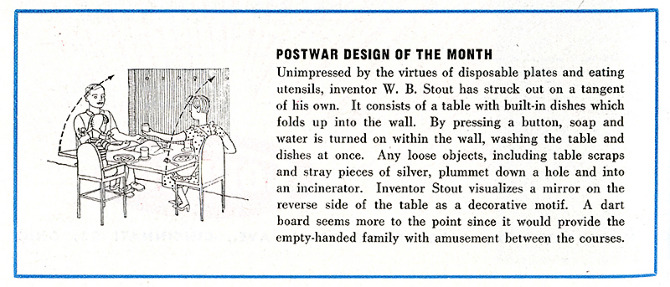 WB Stout. Architectural Forum 81 September 1944, 6