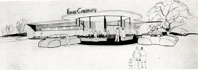 Lawrence Gentry. Architectural Record 100 September 1946, 105