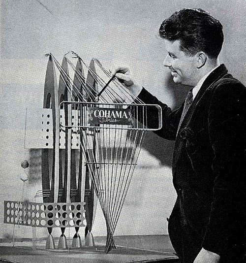 John Fischer. Progressive Architecture 30 March 1949, 14
