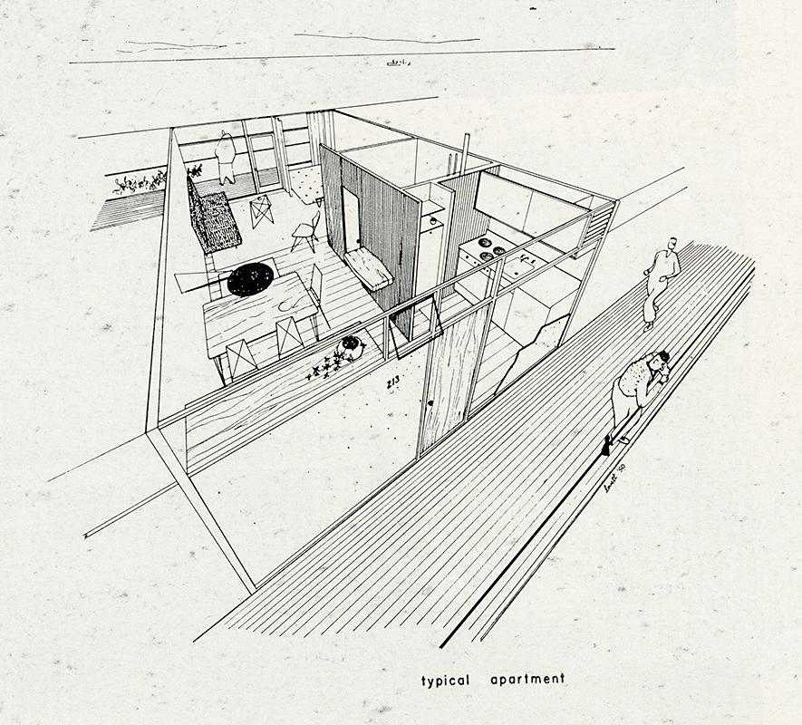 Bassetti and Morse. Arts and Architecture. June 1950, 26