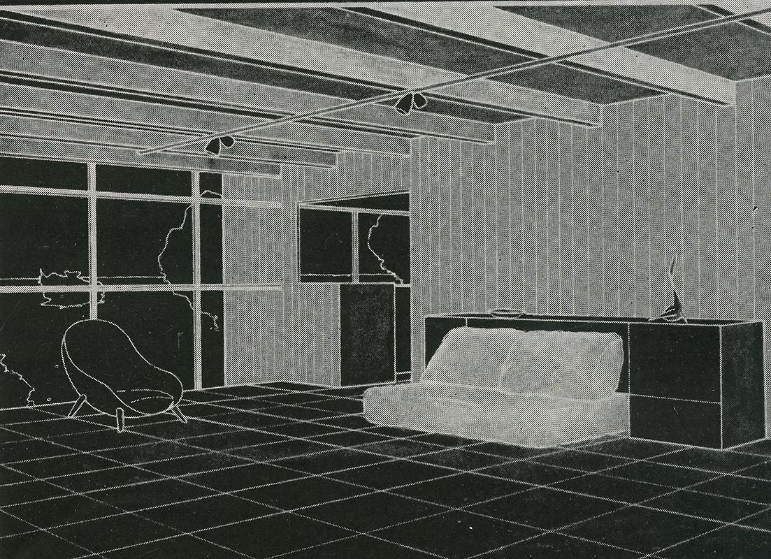 Frank LaPrelle. Arts and Architecture. Aug 1950, 35