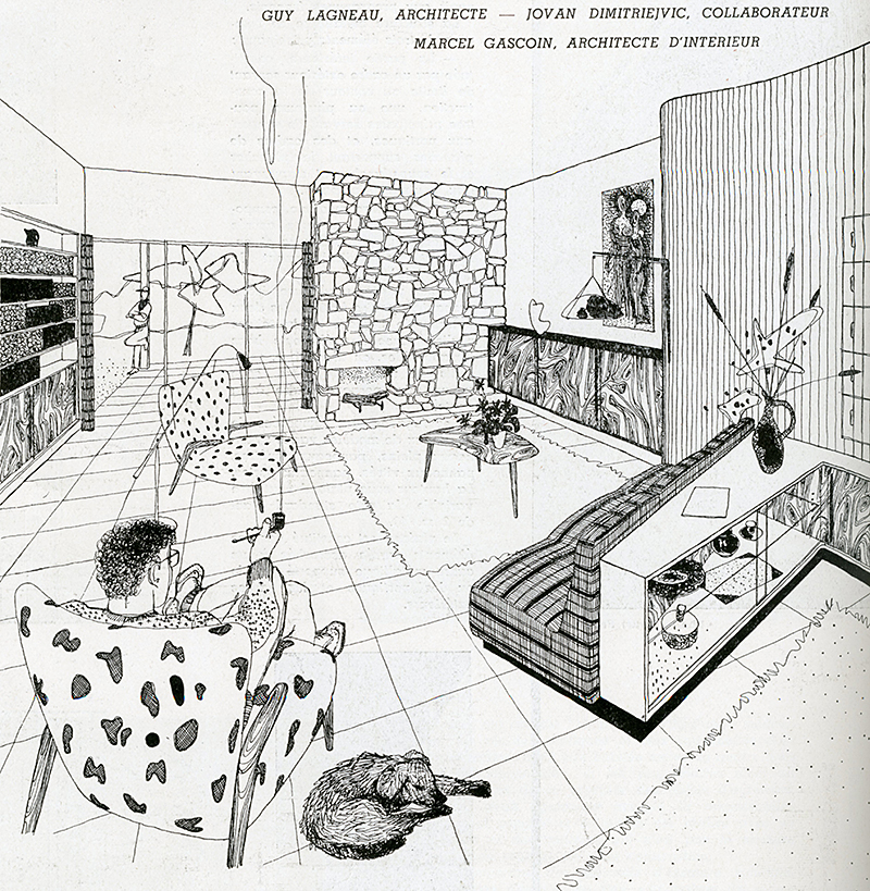 Guy Lagneau. Architecture D'Aujourd'Hui v. 20 no. 30 Jul 1950, 3