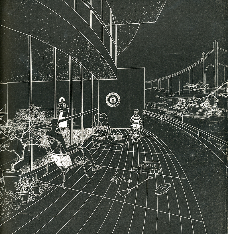 IM Pei. Architectural Forum Jan 1950, 95