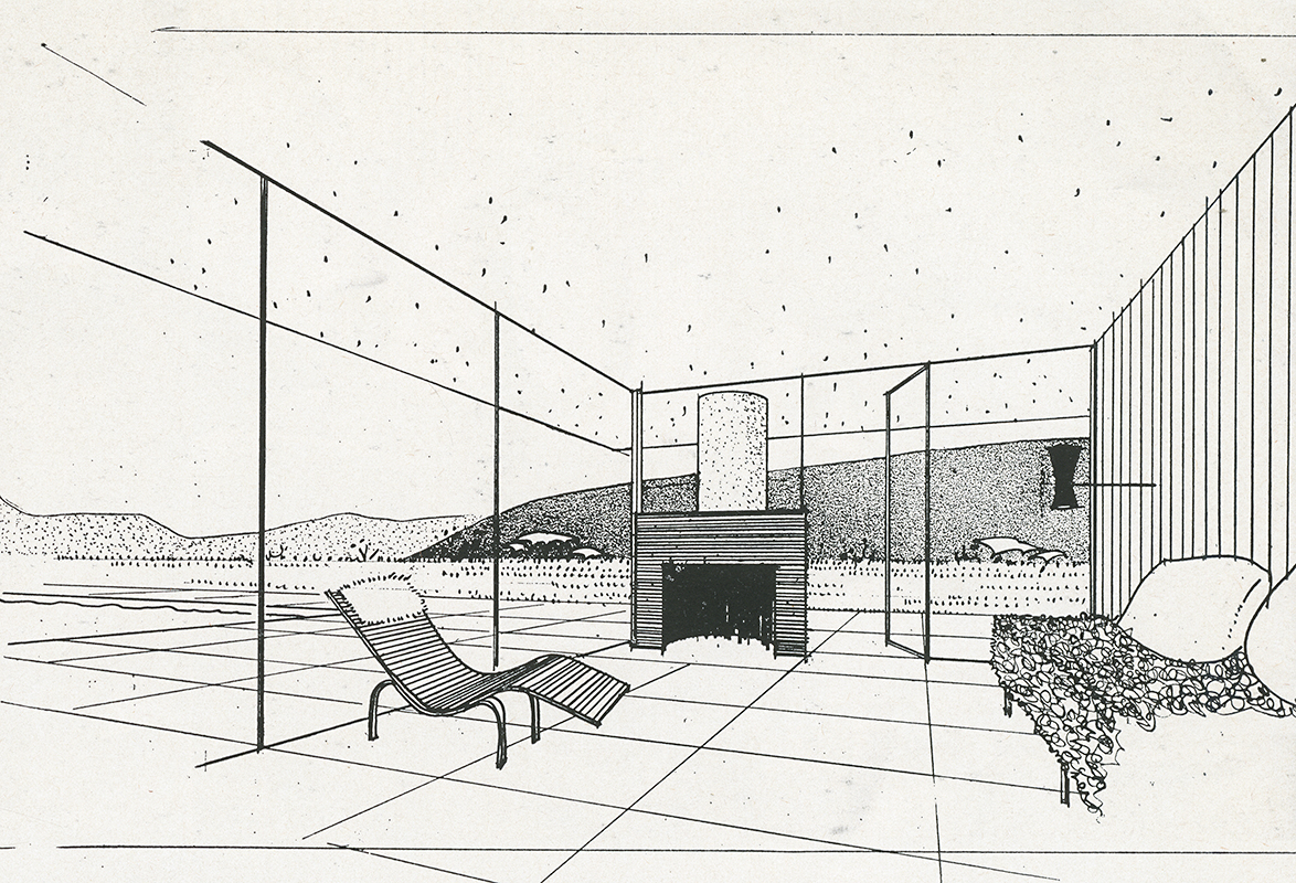 Sumner Spaulding and John Rex. Arts and Architecture. Mar 1950, 35