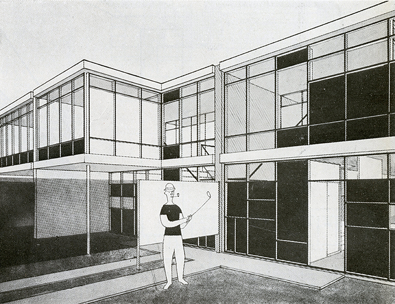 Tetsui Takayanagi. Architecture D'Aujourd'Hui v. 20 no. 28 Feb 1950, 59
