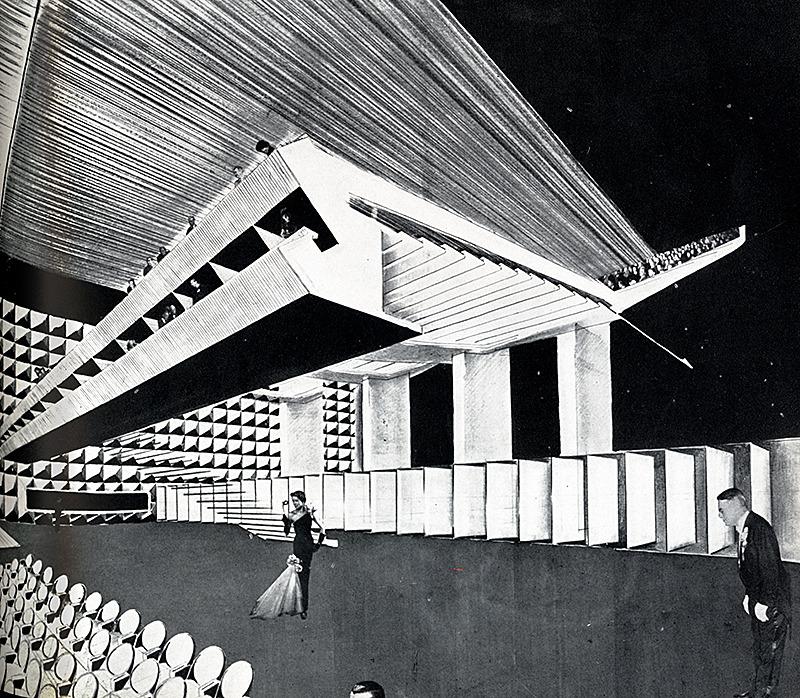 Chessa Architetto. Interiors 111 June 1952, 99