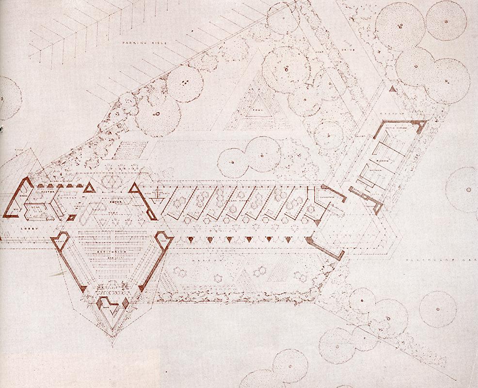 Frank Lloyd Wright. Architectural Forum Dec 1952, 89