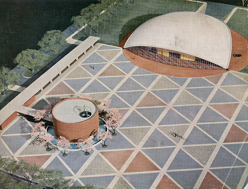 Eero Saarinen. Architectural Forum Jan 1953, 127