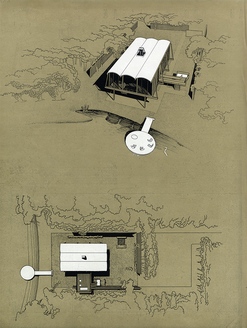 Paul Rudolph. Architecture D'Aujourd'Hui v. 24 no. 49 Oct 1953, 66