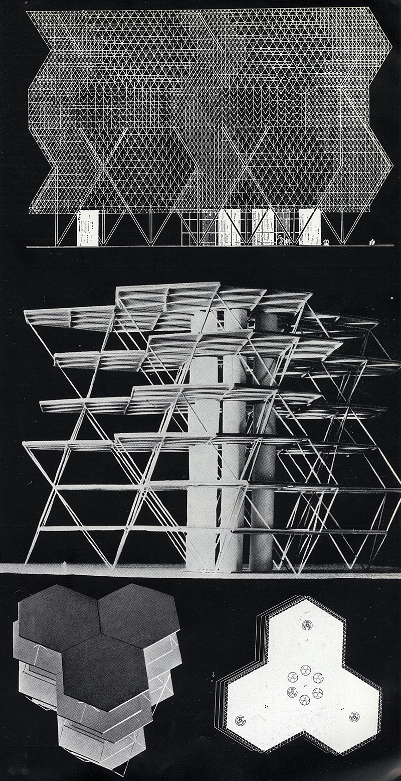 Louis Kahn. Architecture D'Aujourd'Hui v. 25 no. 55 Jul 1954, 11