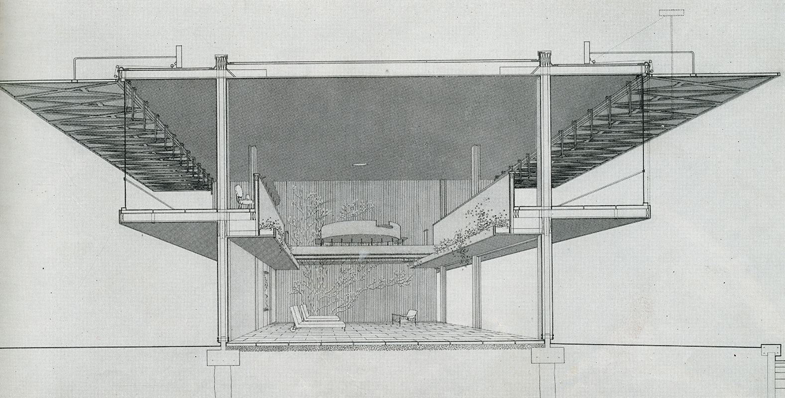 Paul Rudolph. Arts and Architecture. Sep 1954, 15