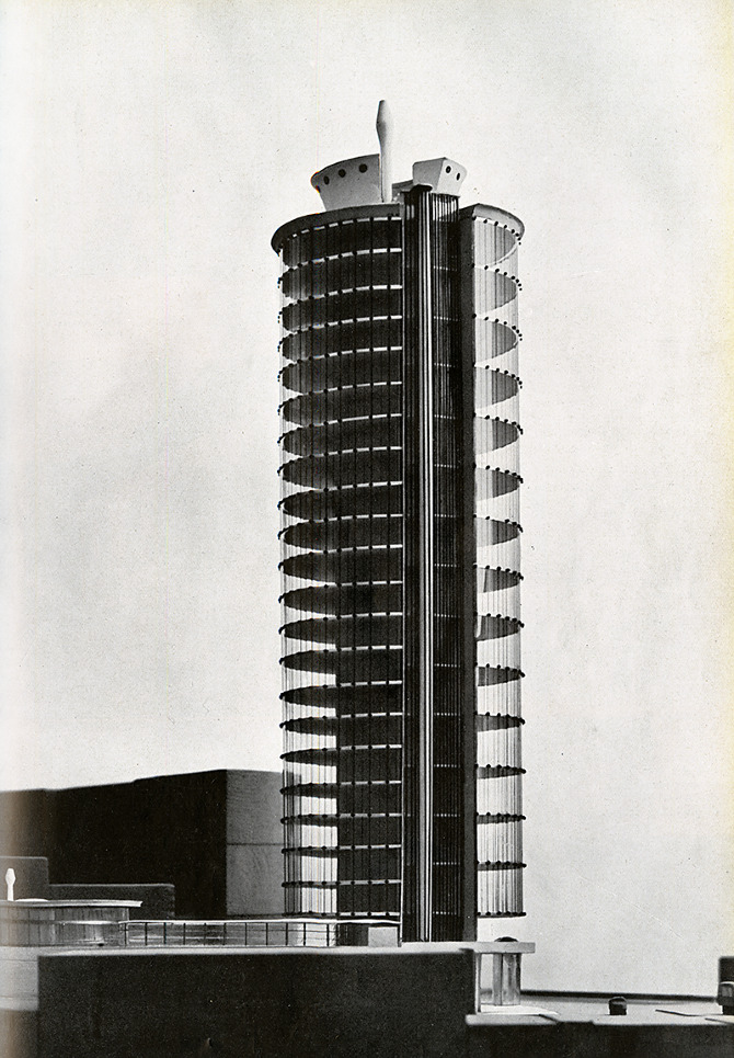 Angelo Mangiarotti and Bruno Morassutti. Domus 309 August 1955, 5