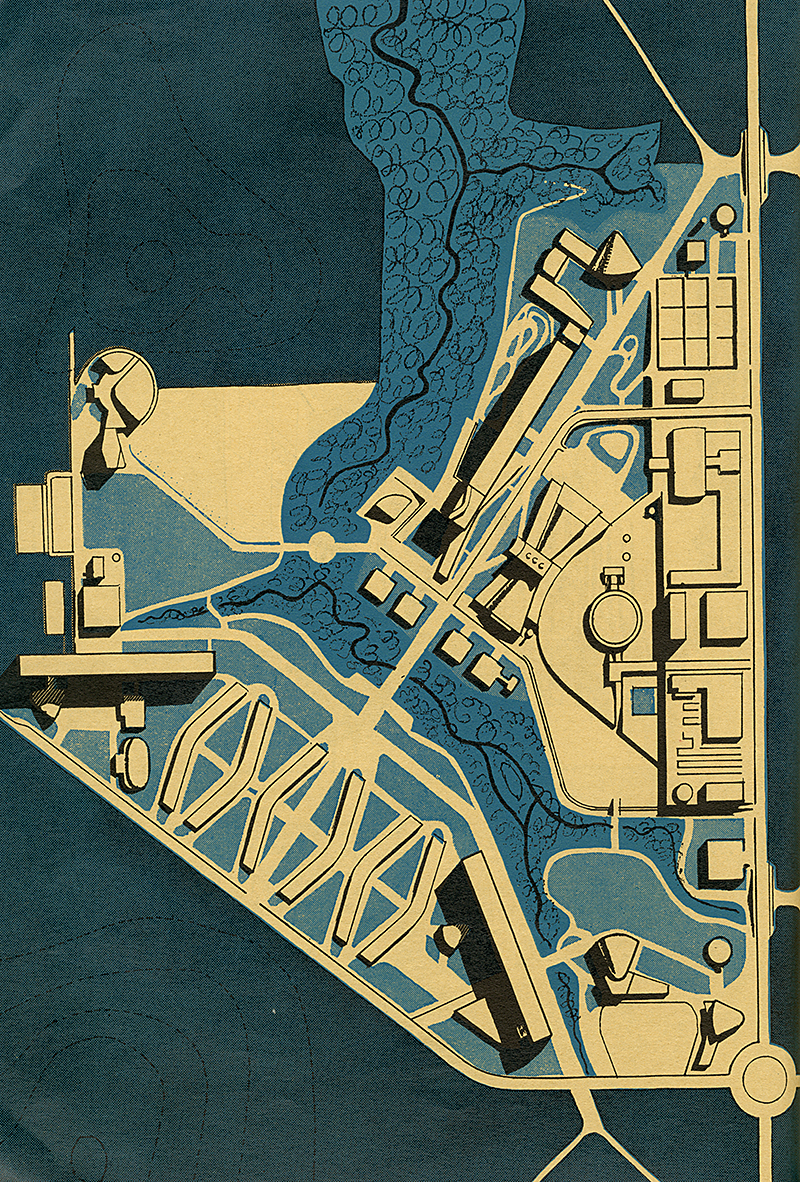 Berthold Lubetkin. Architectural Review v. 118 n. 703 Jul 1955, 37