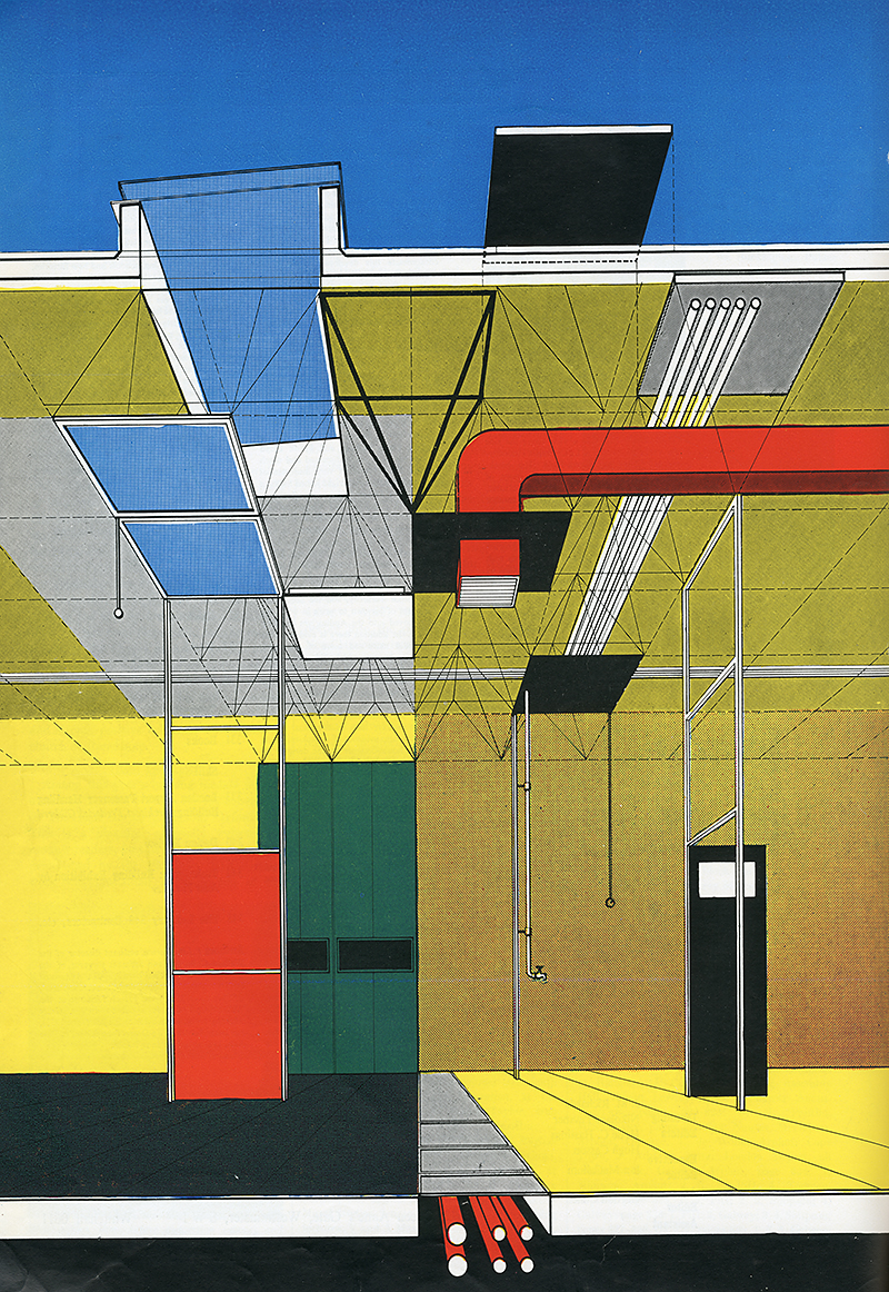 Gordon Cullen. Architectural Review  1955,