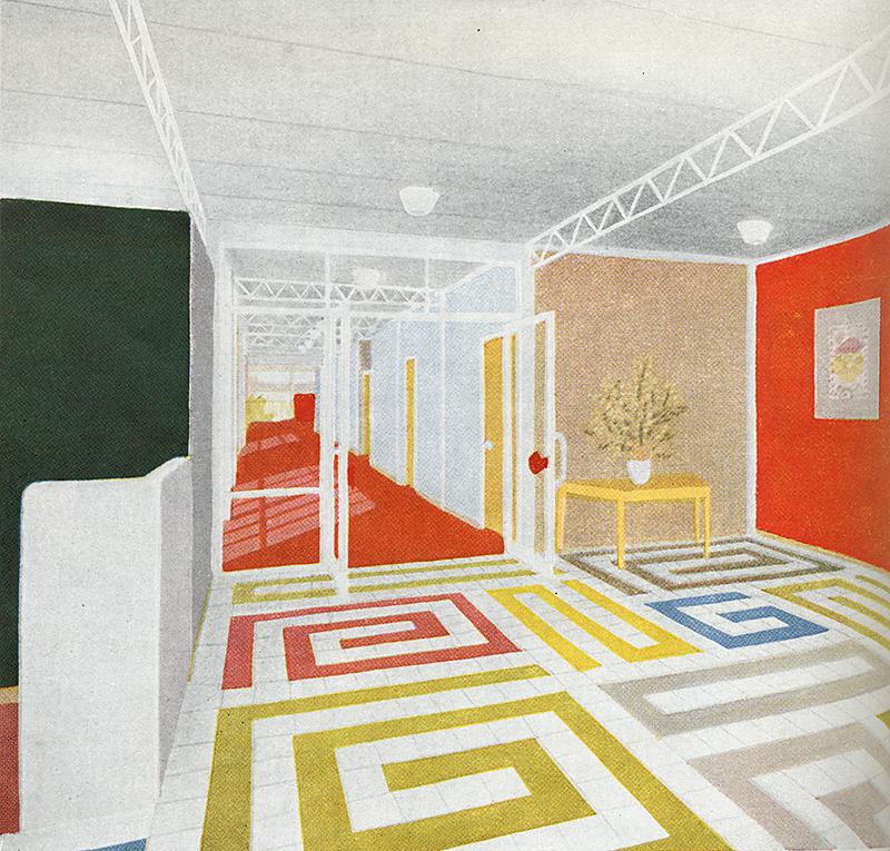 Oliver Cox. Architectural Review v.117 n.702 Jun 1955, xlix