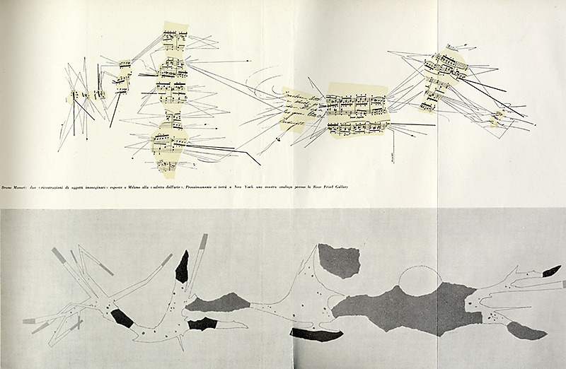 Bruno Munari. Domus 326 January 1957, 32