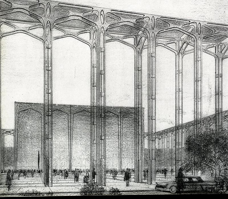 Philip Johnson. Architecture D'Aujourd'Hui 91 September 1960, 70