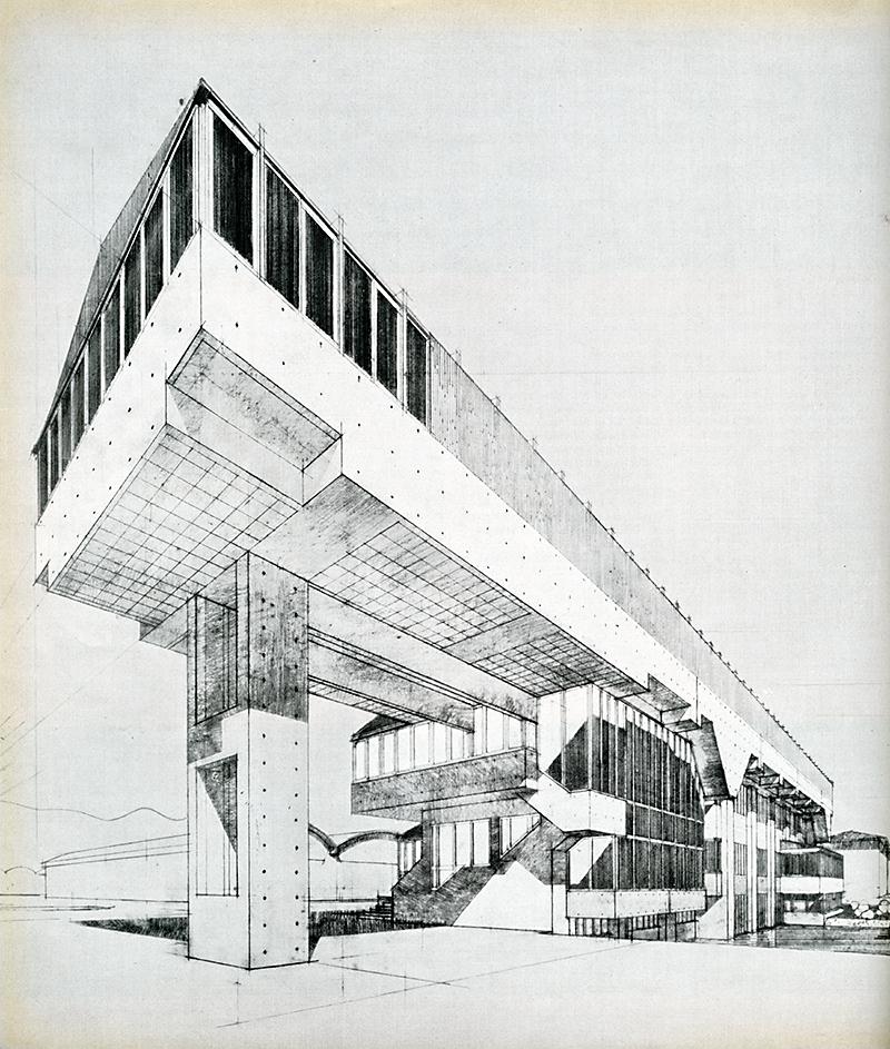 Studio Architetti Valle. Casabella 246 1960, 30