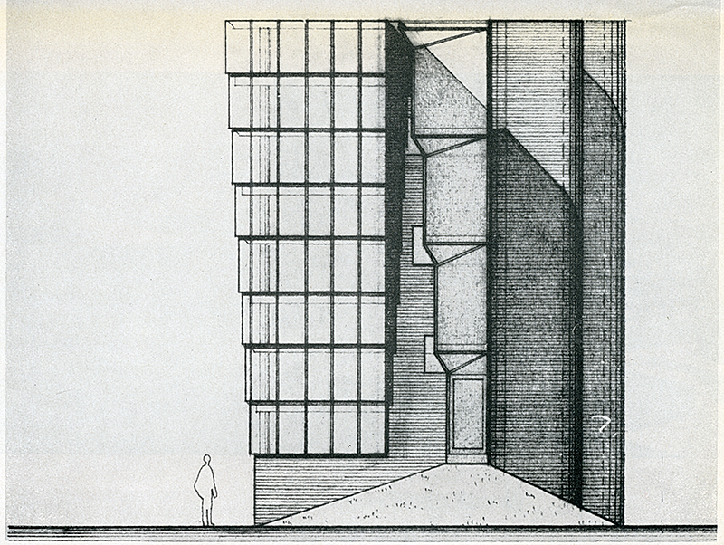 James Stirling and James Gowan. Architectural Review  1961,