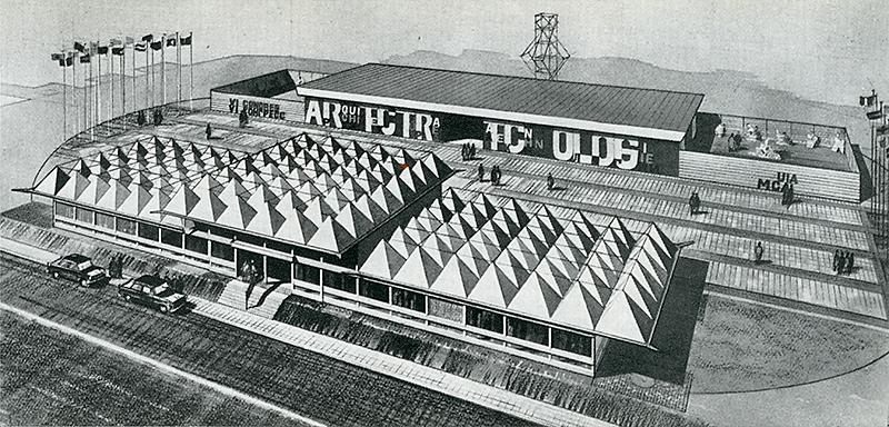 John Ernest. Architectural Review v.129 n.770 Apr 1961, 226