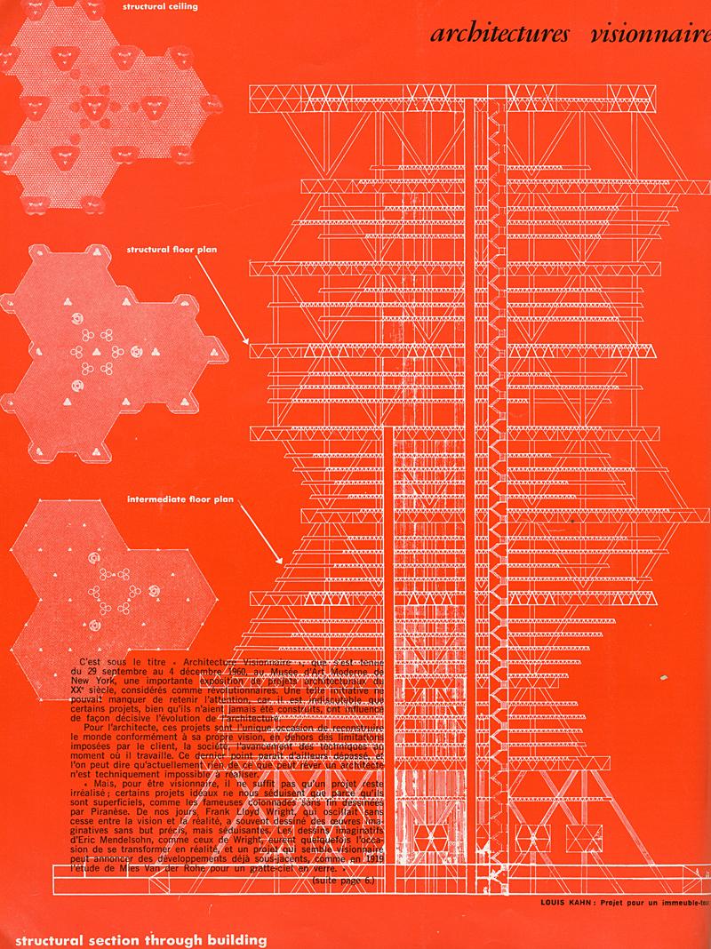 Louis Kahn. Architecture D'Aujourd'Hui 102 Jun 1962, 5