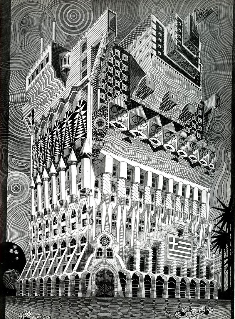 Pedro Friedeberg. Architecture D'Aujourd'Hui 102 Jun 1962, 103