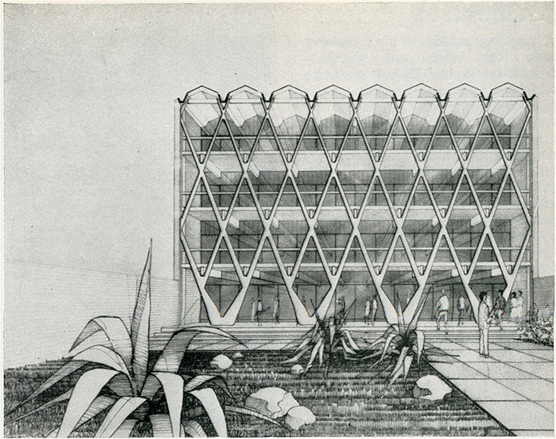 Enrico Tedeschi. Architectural Review v.133 n.794 Apr 1963, 233