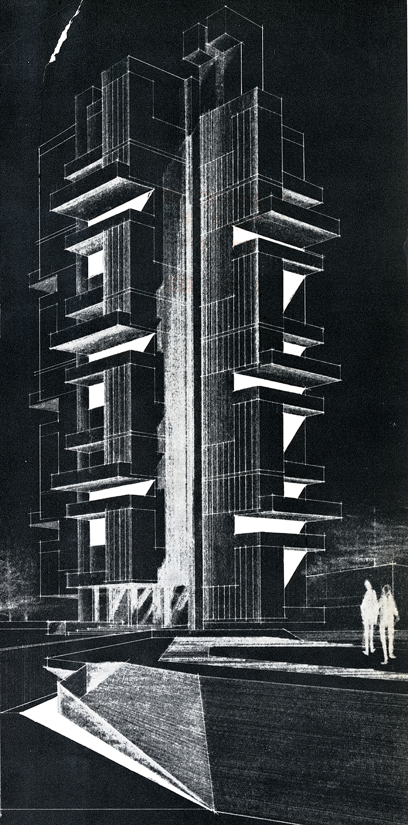 Gollins Melvin and Ward. Architectural Review v.133 n.791 Jan 1963, cover