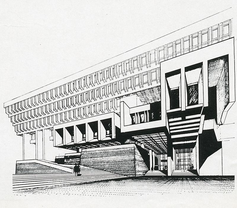 Kallmann McKinnell Knowles. Casabella 271 1963, 19