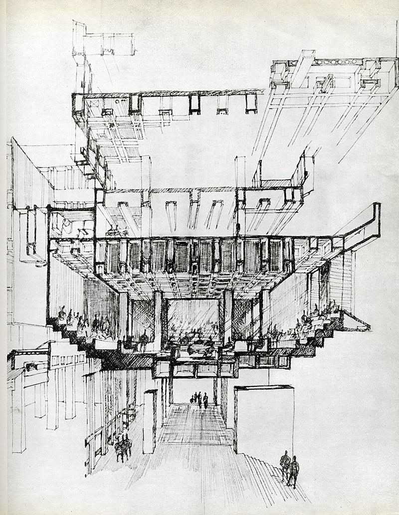 Kallmann McKinnell Knowles. Casabella 271 1963, 27