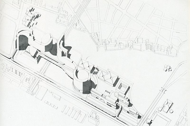 Michele Achilli, Guido Canella, Lucio Stellario D'Angiolini, Virgilio Vercelloni. Casabella 278 1963, 37