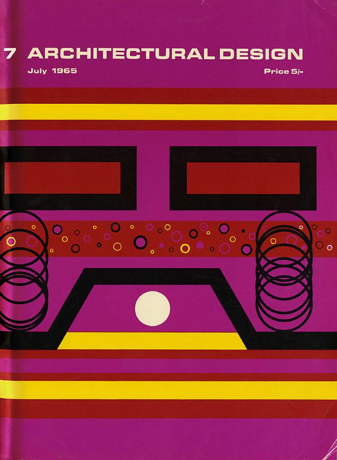 A Stockbridge. Architectural Design 35 July 1965, cover