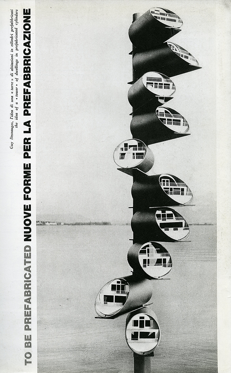 Guy Dessauges. Domus 443 October 1965, 21